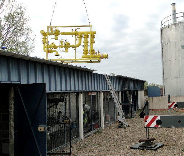 Rénovation coffret gaz